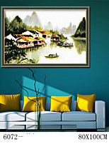 DIY Digital Oil Painting  Large Size Without Frame  Family Fun Painting All By Myself The Misty Rain 6072