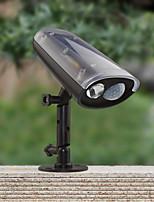 Solar Power LED Spotlight Montion Sensor Activated Security Wall Flood Path Garden Lamp Led Light Waterproof