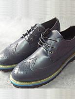 Men's Shoes Casual Oxfords Blue/Brown