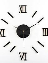 High Quality Fashion Creative Personality Fun Home Mute Contracted Fashionable Process Acrylic Digital Wall Clock