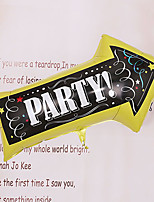 Arrow Signpost Shape Helium Balloon for Party Deco