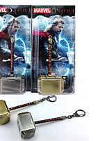 Thor Mjolnir Hammer Pendant Movie Cosplay Accessory Key Buckle