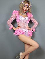 Leotardos ( Rosa , Algodón , Sala de Baile ) - Sala de Baile - para Mujer