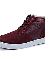 Men's Shoes Outdoor Synthetic Fashion Sneakers Black/Blue/Burgundy