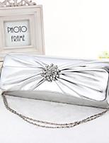 Women PVC Baguette Evening Bag