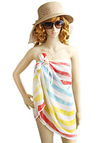 Unique Style Colorful Stripes Multipurpose Dress Magic Scarf