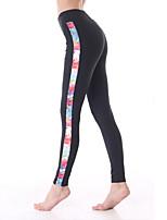 Otros ® Yoga Medias Transpirable / Secado rápido / Capilaridad Eslático Ropa deportiva Yoga / Pilates / Fitness Mujer