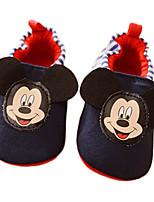 Baby Boy's Cartoon Mickey Slip-on Shoes Infant Toddler First Walker Prewalker Boy Walk Trainer Crip