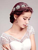 Dame Rhinestone/Legering Headpiece Bryllup/Spesiell Leilighet/Utendørs Pannebånd Bryllup/Spesiell Leilighet/Utendørs 1 Deler