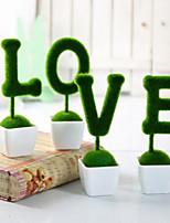 Niet-gepersonaliseerd Unieke bruiloftsdecoratie/Ornamenten ( Groen