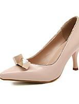 Women's Shoes Stiletto Heel Heels/Pointed Toe Pumps/Heels Casual Black/Pink