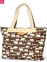 Fashion Women's Canvas Casual Shoulder Bag Retro Rucksack Messenger Bag Candy Color Handbag