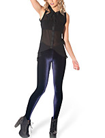 Women's Skinny Simple Velvet Medium Solid Color Legging