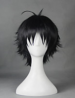 Your Lie in April Arima Kousei  Black 30cm Cosplay Wigs