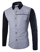 Men's Autumn Leisure Long Sleeved Shirts