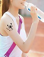 Tatuaggi adesivi - Altro Bambino/Da donna/Girl/Da uomo/Adulto/Boy/Teen - 1 - Modello - di Carta -Every small size:2.5~3.5cm