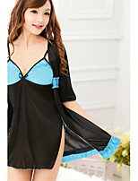 SKLV Women's Ice Silk Robes/Ultra Sexy/Suits Nightwear/Lingerie