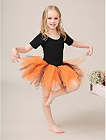 Performance Tutus & Skirts Children's Performance/Training Tulle/Lycra 1 Piece Orange