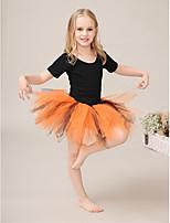Kinderen - Uitvoering/Ballroomdansen - Tutus&Rokken ( Oranje , Tule/Lycra