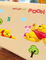 Wall Stickers Wall Decals, Cartoon Lovely Winnie The Pooh PVC Wall Sticker