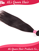 ali productos pelo de la reina 6a staight 1pcs / lot del pelo 100% extensiones de cabello humano virginal brasileña del pelo naturales