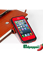 Para Funda iPhone 5 Impermeable Funda Cuerpo Entero Funda Armadura Dura Policarbonato Apple iPhone SE/5s/5