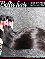Bundle Hair Peruvian Straight Hair 3pcs/lot Virgin Remy Human Hair Weave Double Weft Black Color