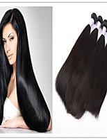 3Pcs/Lot New Arrival 100% Virgin Wholesale Brazilian Hair Bundles,100% Brazilian Straight Virgin Hair Weft Weaves