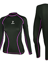 WEST BIKING® Female Sports Tight Slim  Foot Basketball Jogging Cycling Fitness Stretch Long-Sleeved Suit