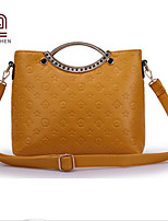 Handcee® Newest Fashion Woman PU Embossing Unique Design Tote Bag