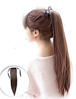 False Hair Straight Drawstring Ponytail Wig Clip Resistant Hair Tail Natural Costume Long Ponytail Extension