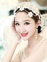 Acryl/Stof Vrouwen Helm Bruiloft/Speciale gelegenheden Hoofdbanden Bruiloft/Speciale gelegenheden 1 Stuk