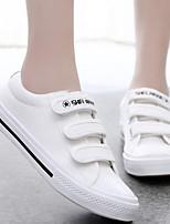 Zapatos de mujer - Tacón Plano - Comfort / Punta Redonda - Sneakers a la Moda - Exterior / Casual - Tejido - Negro / Azul / Rojo / Blanco