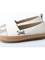 Girls' Shoes Casual Round Toe Loafers White