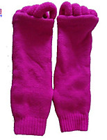Waboats Women Massage Socks With Open Toes Solid