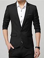 Men's Casual Formal Long Sleeve Regular Blazer