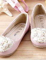 Girls' Shoes Casual Comfort Flats Pink/White