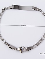 Women's Stainless Steel Chain With Bridesmaid Bracelet