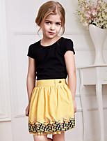 Girl's Polyester Dress , Summer Short Sleeve