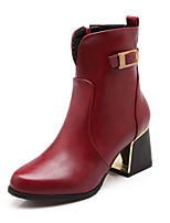 Women's Shoes Chunky Heel Pointed Toe Ankle Boots Dress More Colors available