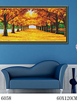 DIY Digital Oil Painting  Large Size Without Frame  Family Fun Painting All By Myself     Gold all Over The Floor 6058