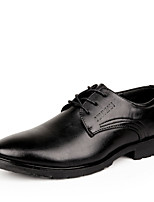 Men's Shoes Office & Career/Casual/Party & Evening Leather Oxfords Black