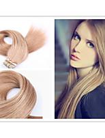 1pc / lot adesivo brasiliana nastro pelle estensione dei capelli 2.5g / pc, 40pcs / pack, estensione dei capelli umani pu estensione dei