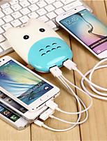 paître le bétail banque d'alimentation de 9000mAh portable adapté à tous les types de téléphone mobile