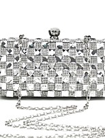 Handbag Metal Evening Handbags/Clutches/Mini-Bags/Wallets & Accessories With Crystal/ Rhinestone/Metal