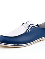 Men's Shoes Casual Oxfords Blue/Yellow/White