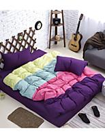 Purple Poly/Cotton King Duvet Cover Sets