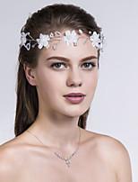 Stof Vrouwen Helm Bruiloft/Speciale gelegenheden/Casual Bloemen Bruiloft/Speciale gelegenheden/Casual 1 Stuk