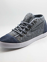 Men's Shoes Casual Fabric Fashion Sneakers Blue/Green