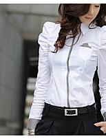 Women's White Shirt Long Sleeve